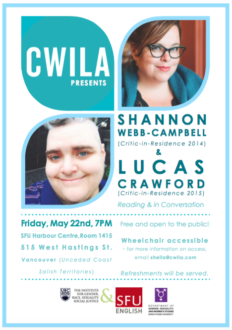 CWILA May 22 Event Poster